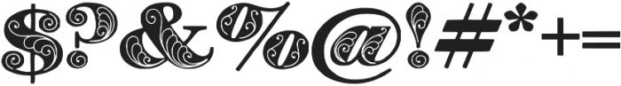 Zenone otf (400) Font OTHER CHARS