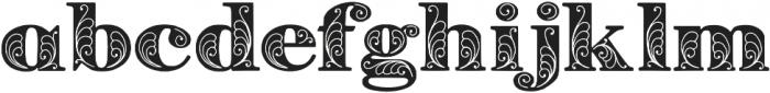 Zenone otf (400) Font LOWERCASE