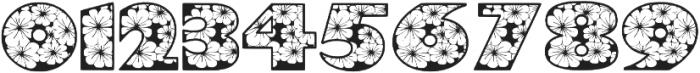 Zensyrom otf (400) Font OTHER CHARS