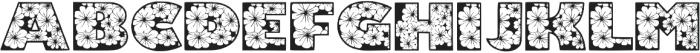 Zensyrom otf (400) Font UPPERCASE