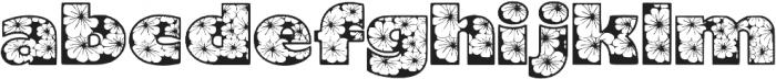 Zensyrom otf (400) Font LOWERCASE