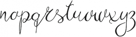 Zenyth otf (400) Font LOWERCASE