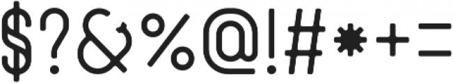 Zenzero Grotesk Round otf (400) Font OTHER CHARS