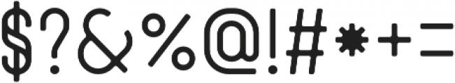 Zenzero Grotesk Sans Round otf (400) Font OTHER CHARS