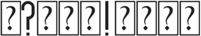 Zephyr otf (400) Font OTHER CHARS