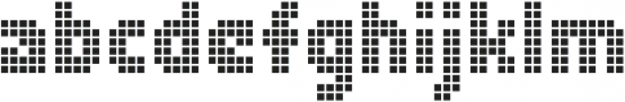 Zerbydoo Mesh otf (400) Font LOWERCASE