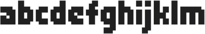 Zerbydoo Regular otf (400) Font LOWERCASE