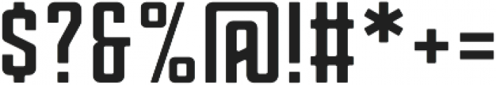 Zero Regular otf (400) Font OTHER CHARS