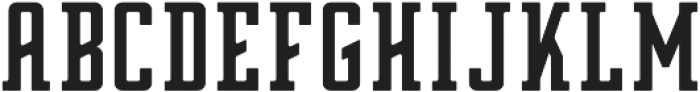 Zero Regular otf (400) Font LOWERCASE