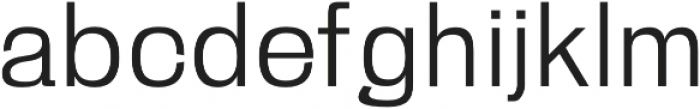 Zevida otf (400) Font LOWERCASE