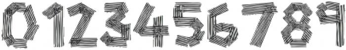zebra otf (400) Font OTHER CHARS