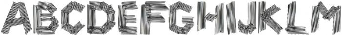 zebra otf (400) Font UPPERCASE