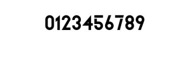 ZELDA-Bold.ttf Font OTHER CHARS