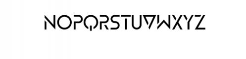 ZELDA-Regular.ttf Font LOWERCASE