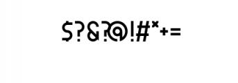 ZELDA-fill.otf Font OTHER CHARS