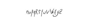 Ze Typeface Font LOWERCASE