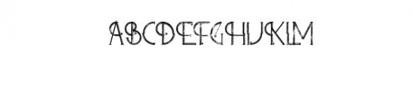Zelda - ArtDeco Font Font UPPERCASE