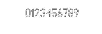 Zelda OUTLINE.ttf Font OTHER CHARS