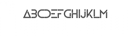 Zelda Typeface (Boldline) Font LOWERCASE