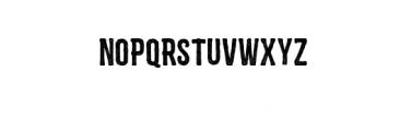 Zembood Typeface Font UPPERCASE