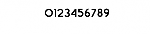 Zeniq Tech.otf Font OTHER CHARS