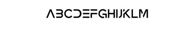 Zeniq Tech.otf Font UPPERCASE