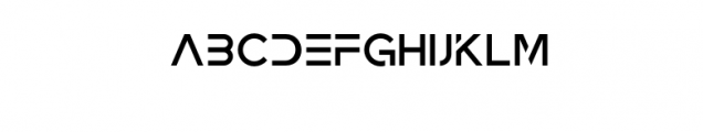 Zeniq Tech.otf Font LOWERCASE