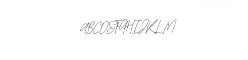 Zephira.otf Font UPPERCASE