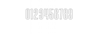 Zeuty Sans Outline.ttf Font OTHER CHARS