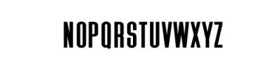 Zeuty Sans.ttf Font UPPERCASE