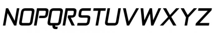 Zekton Bold Italic Font UPPERCASE