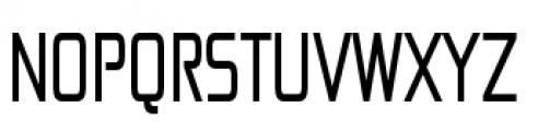 Zekton Condensed Regular Font UPPERCASE
