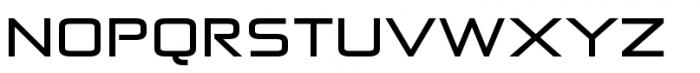 Zekton Extended Bold Font UPPERCASE