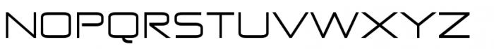 Zekton Extended Regular Font UPPERCASE