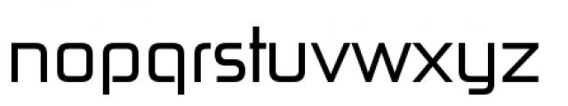 Zekton Regular Font LOWERCASE