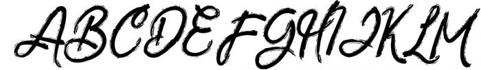 ZeBrush | Brush Script Font Font UPPERCASE