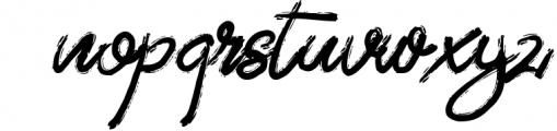 ZeBrush | Brush Script Font Font LOWERCASE