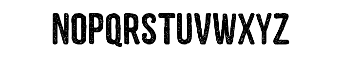 ZEMBOOD Font LOWERCASE