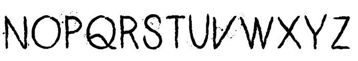 ZERO_CRE Font UPPERCASE
