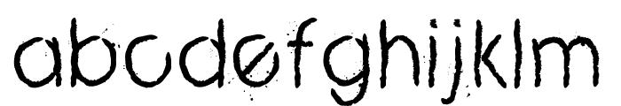 ZERO_CRE Font LOWERCASE