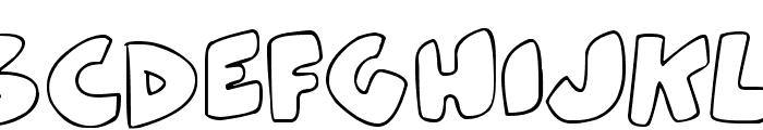 ZeBrA bLoBs Font UPPERCASE