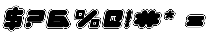 Zealot College Italic Font OTHER CHARS