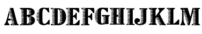 Zebraesq Font LOWERCASE