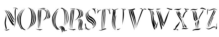 ZebralSketched Font UPPERCASE
