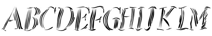 ZebralSketched Font LOWERCASE