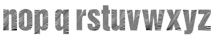 Zebretica Font LOWERCASE