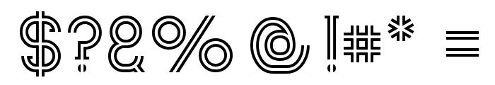 Zebrra Font OTHER CHARS