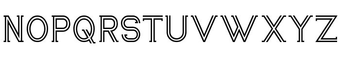 Zebrra Font UPPERCASE