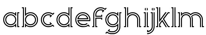 Zebrra Font LOWERCASE