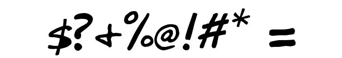 Zebtoonz Normal Font OTHER CHARS